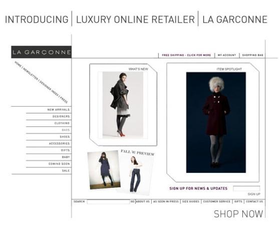 www.lagarconne.com -e-retailer