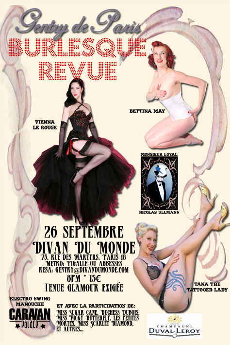 Gentry de Paris Burlesque Revue