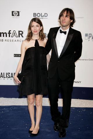 Sophia Coppola and Thomas Mars at the 59th Cannes Film Festival