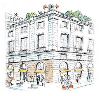 Hermès, 24 FaubourgSaint-Honoré