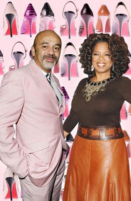 Christian Louboutin & OprahWinfrey