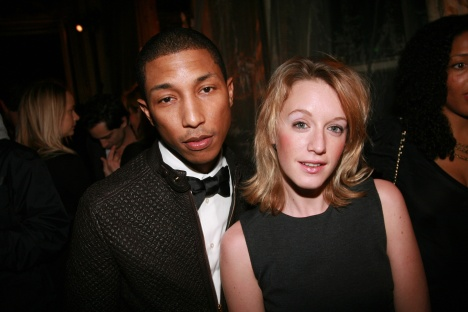 Pharrell Williams and Ludivine Sagnier